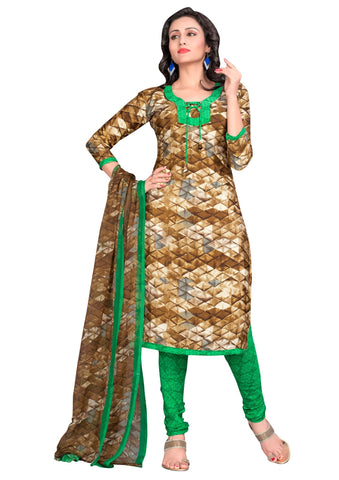 Multi Color Crepe Un Stitched Salwar - SFST-VPIS66001