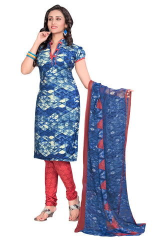 Multi Color Crepe Un Stitched Salwar - SFST-VPIS66015