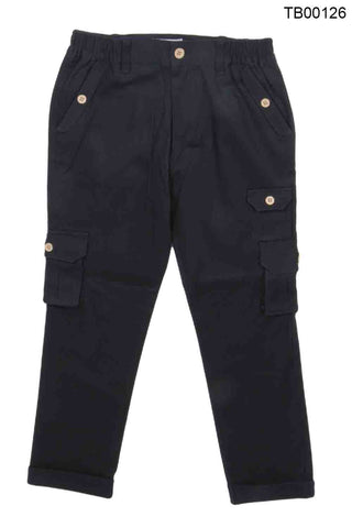 YOUNG BIRDS-BEAUTIFUL NAVY BLUE COLOUR CARGO FOR BOYS - TB00126