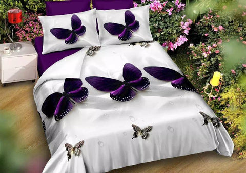 BELOMODA- White Color Poly Cotton Bed Sheet With Two Pillow Covers-blmbsi1