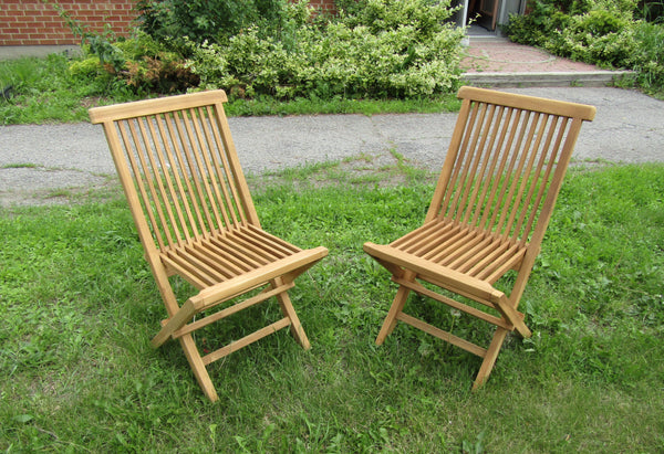 MDF Solid Teak Outdoor Folding Chairs