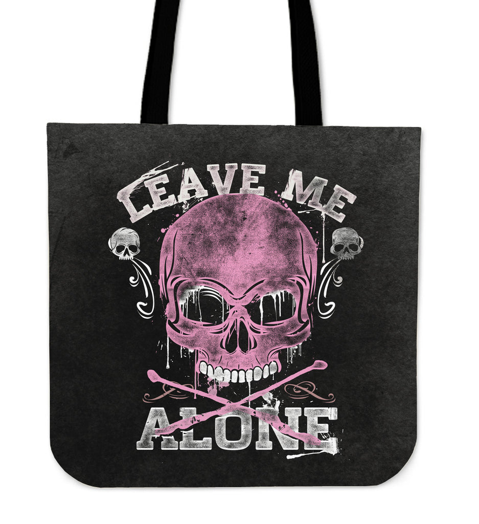 Skullistic Leave Me Alone Tote Bag