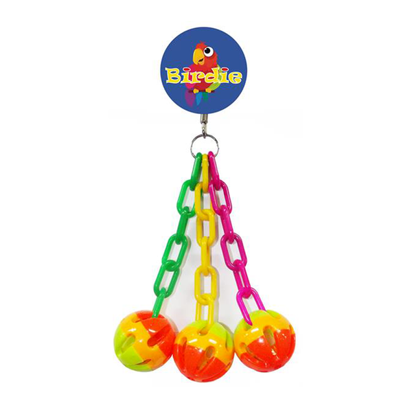 ball and chain parrotbox bird toy
