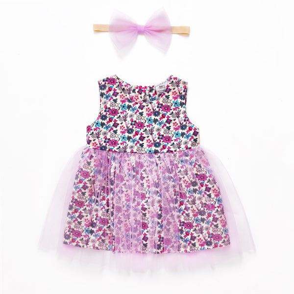 Aurora tulle dress - Toots Kids