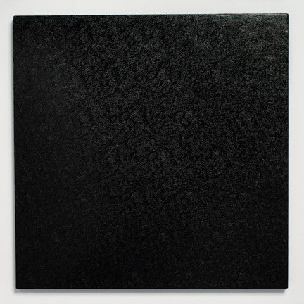 12'' (304mm) Cake Board Square Black