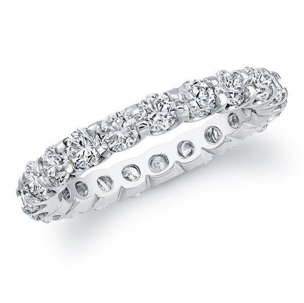 14kt White Gold Eternity Band