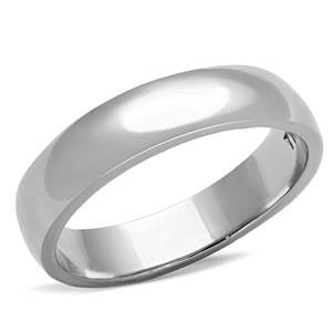 Stainless Steel Band Ring - Men's  and Women