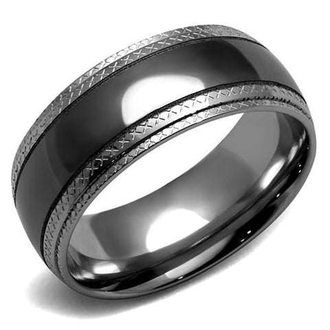 Gunmetal Stainless Band -Men's and Women