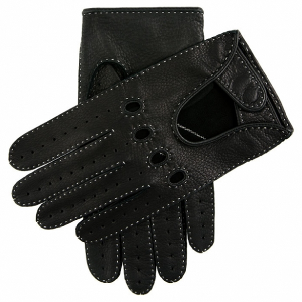 DENTS Winchester Driving Gloves Black - Burrows and Hare