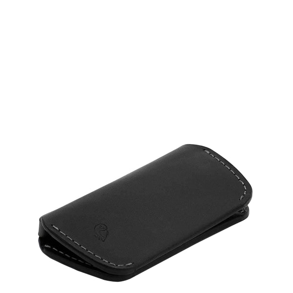 Bellroy Leather Key Cover - Black - Burrows and Hare