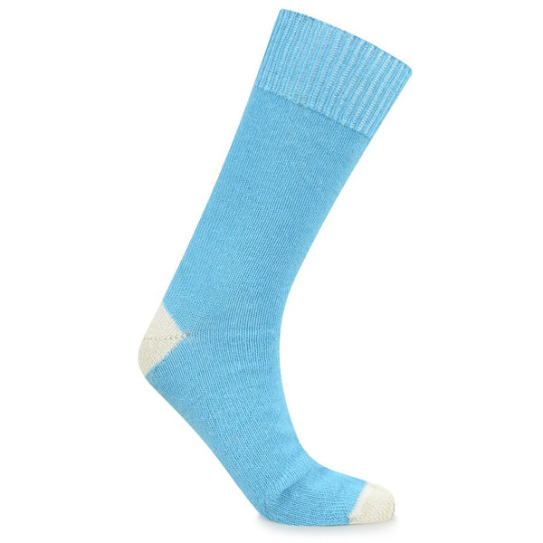 Burrows & Hare Alpaca Sock - Light Blue - Burrows and Hare