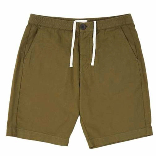 Oliver Spencer Drawstring Short Olive Green