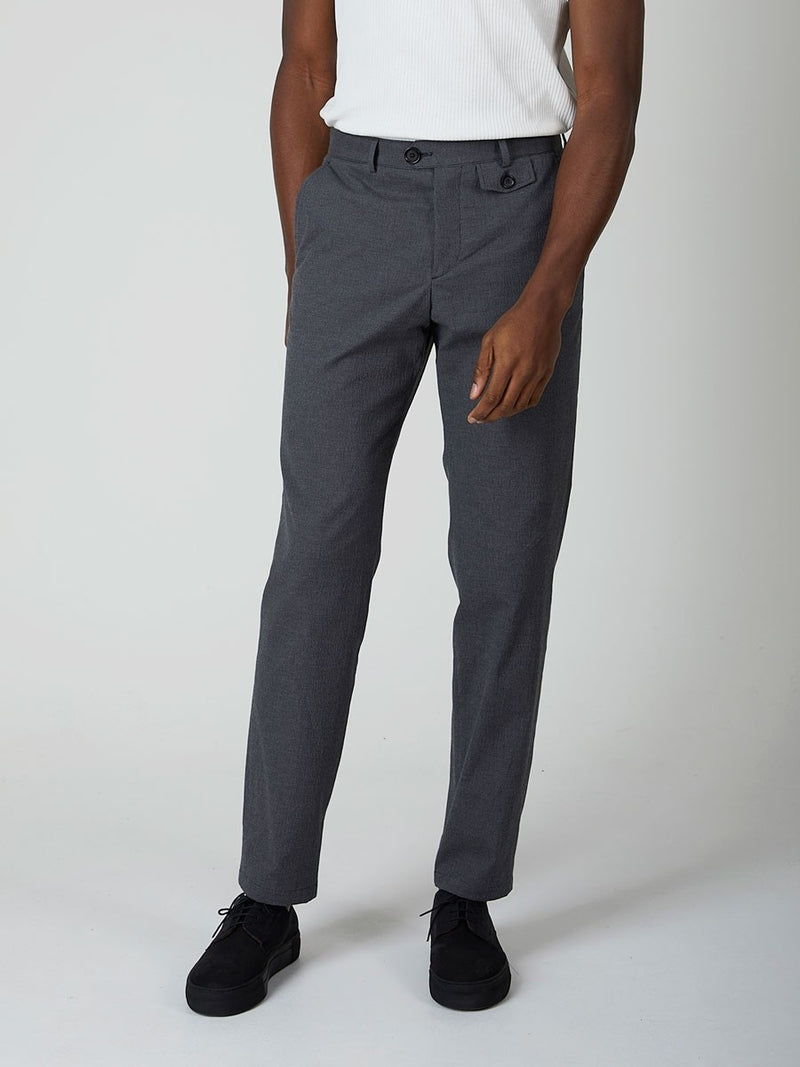 Oliver Spencer Fishtail Trouser - Charcoal