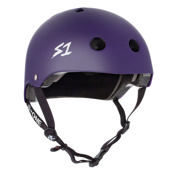 S1 Lifer Helmet Matte Purple - Performance Longboarding - FREE SHIPPING!