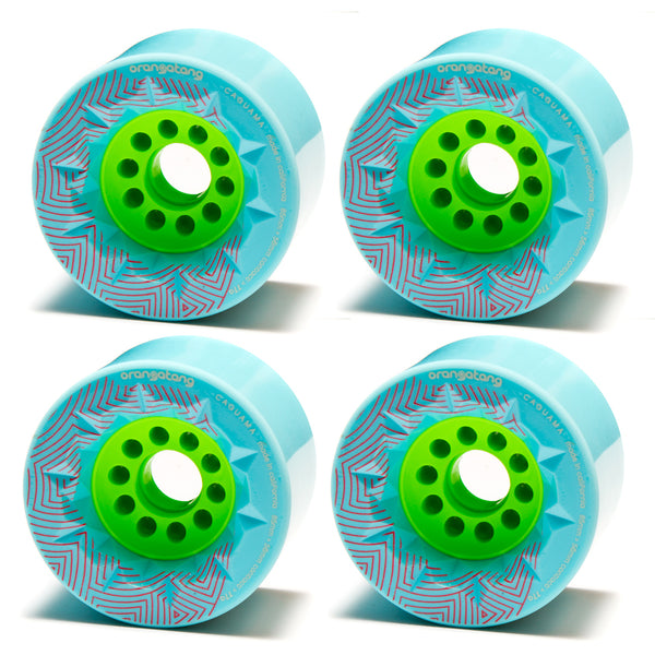 Orangatang Caguama Wheels 85mm X 77a Blue