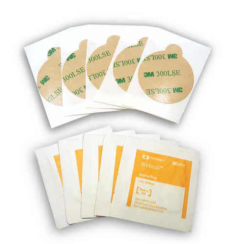 Adhesive 5 pack for amänō