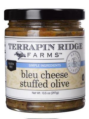 Bleu Cheese Stuffed Olive Tapenade