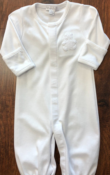 Kissy Kissy White Honey Bear Cub Convertible Gown