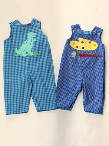 Bailey Boys Reversible Dinosaur/Paint Longall