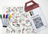 Mark Mat Reusable Coloring Placemat