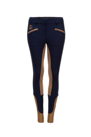 Classic Fit Women's Breeches - Tan