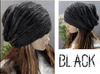 New Unisex Mens Womens Knit Baggy Beanie Beret Hat Winter Warm Oversized Ski Cap