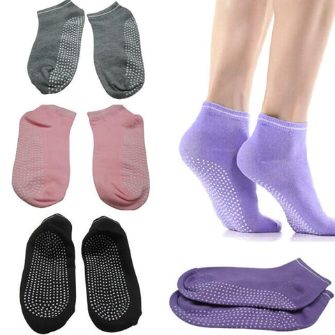 Fashion, Non-Slip, Women  Sport Pilates Yoga  Socks