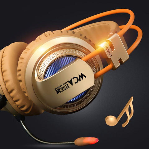 Stereo  Headphone Headset  With Sorround Sound & Microphone For PC Desktop Computer & Gaming