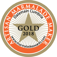 World Marmalade Festival Gold Artisan Award 2018