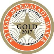 World Marmalade Festival Gold Artisan Award 2017