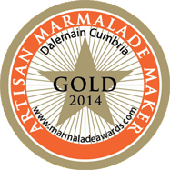 World Marmalade Festival Gold Artisan Award 2014