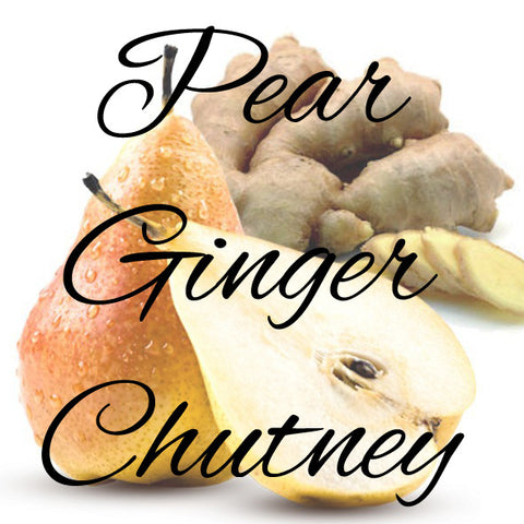 Pear Ginger Chutney Recipe