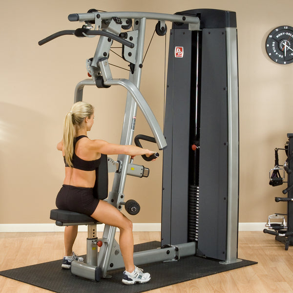 Body-Solid Pro-Dual Vertical Press and Lat Machine DPLS-SF