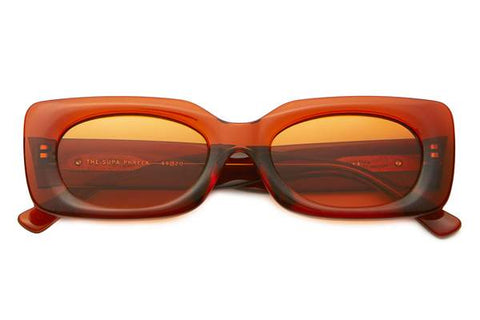 Burnt Orange Supa Phreek Sunglasses