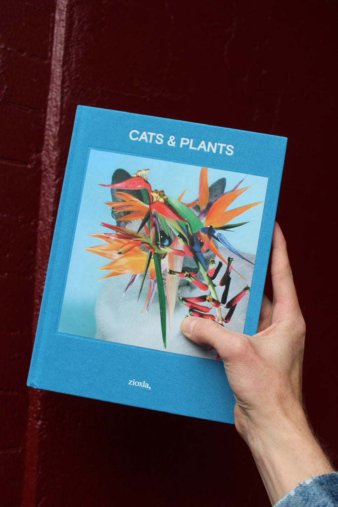 Cats and Plants book