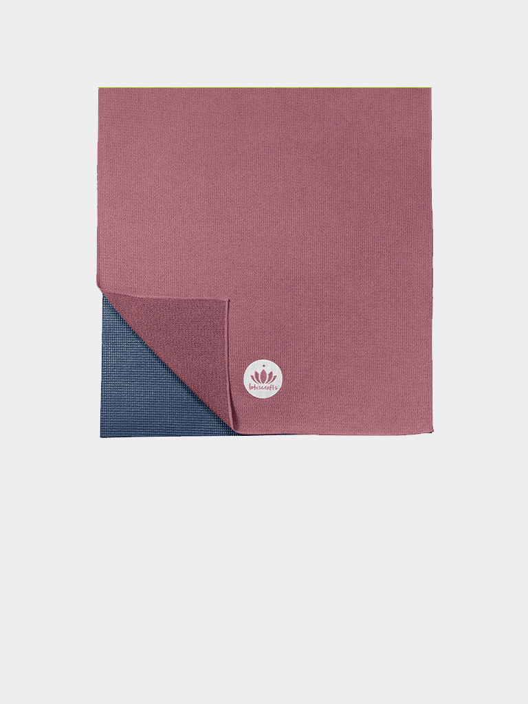 Yoga Towel GRIP - Aubergine