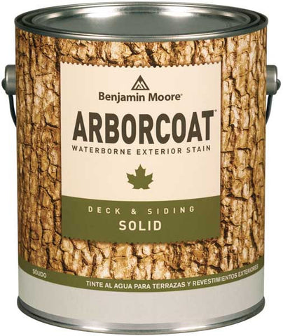 Benjamin Moore ARBORCOAT Solid Color Deck and Siding Stain 640 Gallon
