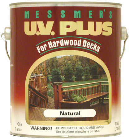 Messmer's UV Plus for Hardwoods Natural Gallon MHV-500 250 VOC