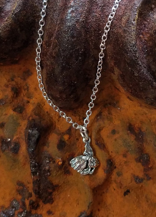 Angel Fish in Sterling Necklace