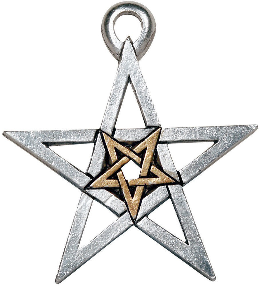PR11 - Double Pentagram (Magical Pentagrams) at Enchanted Jewelry & Gifts