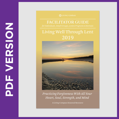 Facilitator Guide for Living Well Through Lent 2019 (PDF FILE)