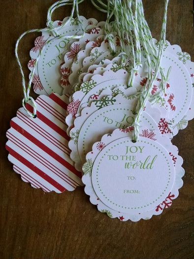 Joy to the World - Coffee Stained Tag Company