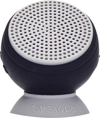 SPEAQUA BARNACLE WATERPROOF SPEAKER (THE BLACK PEARL) PART# BS1001