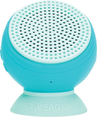 SPEAQUA BARNACLE WATERPROOF SPEAKER (ALOHA BLUE) PART# BS1005