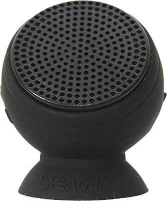 SPEAQUA BARNACLE PLUS WATERPROOF SPEAKER (MANTA RAY BLACK) BP1001