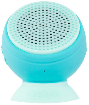 SPEAQUA BARNACLE PLUS WATERPROOF SPEAKER (ALOHA BLUE) BP1005