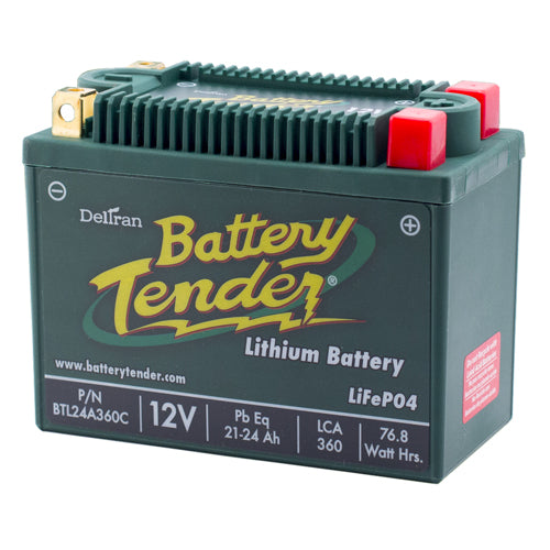 BATTERY TENDER 2009-2013 Victory Ness Vision LITHIUM ENGINE START BATTERY 360 CC