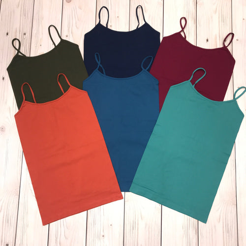 BETTER QUALITY SEAMLESS TUNIC CAMI