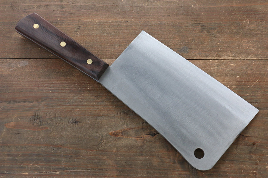 Seisuke Whole steel  Chinese Cleaver Japanese Knife 180mm with Rosewood Handle