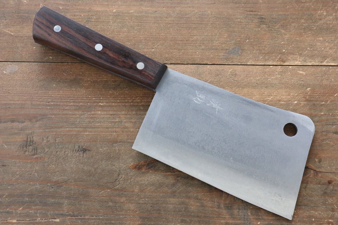 Seisuke Whole steel  Chinese Cleaver Japanese Knife 150mm with Rosewood Handle